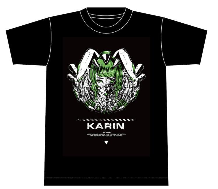 かりん生誕記念 サイバーKARINTシャツお渡し対応のお知らせ